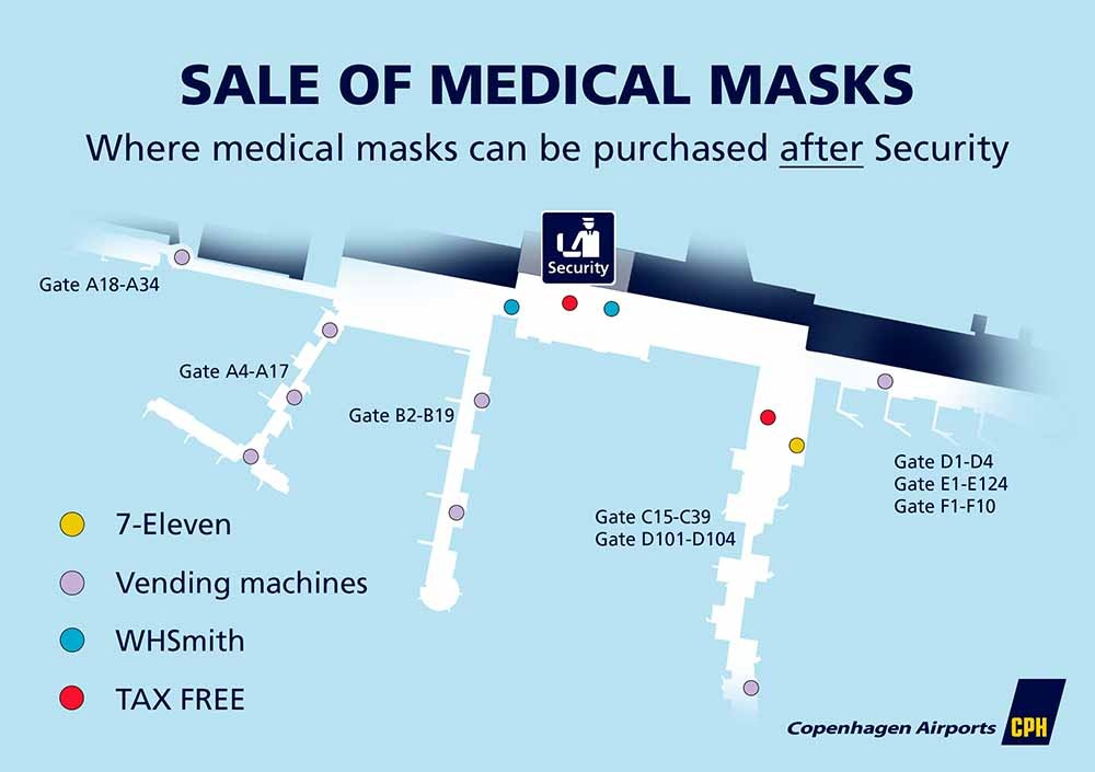 Sale of medical masks after security