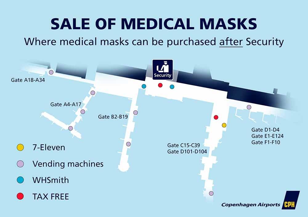 Sale of medical masks after security