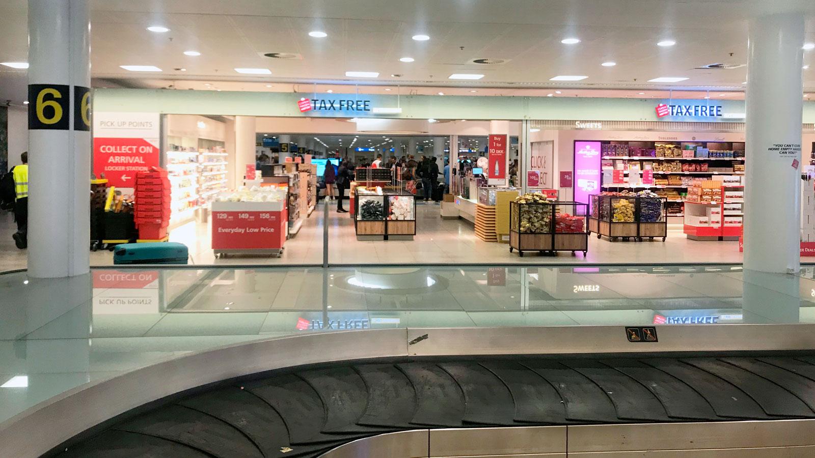 Lufthavn shop kastrup Duty Free