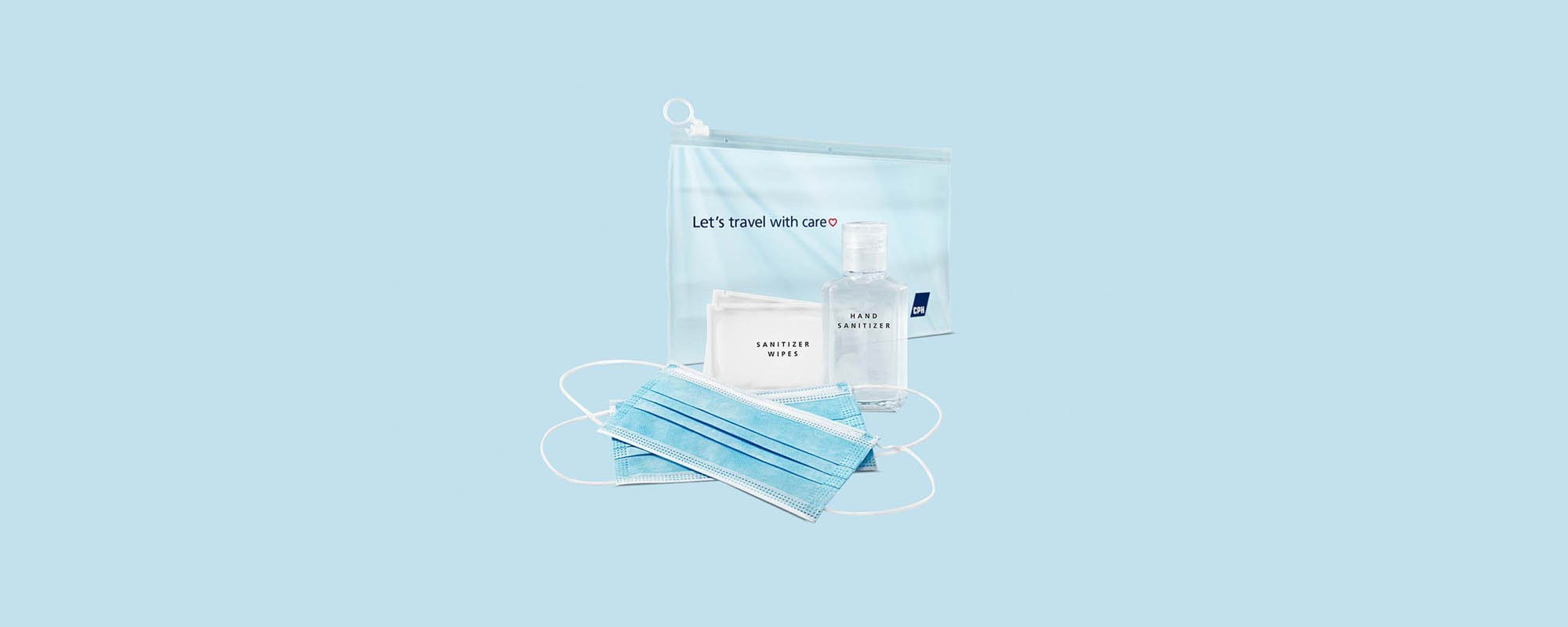 Travel Hygiene Kit - Copenhagen Airport