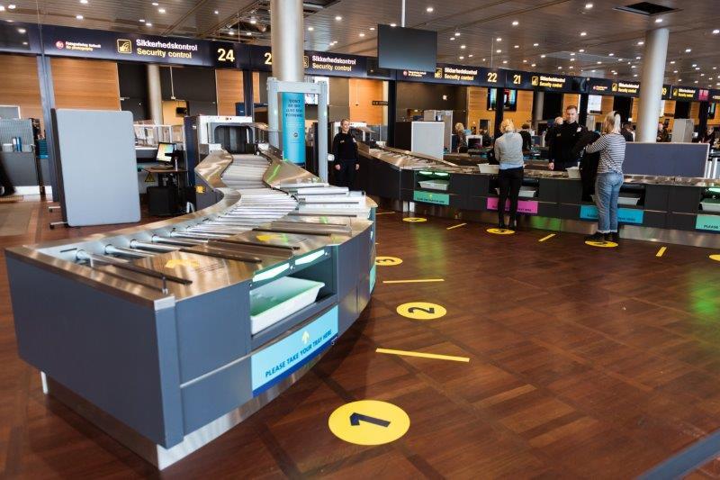 Nyt udviklingsspor i Københavns Lufthavns sikkerhedskontrol